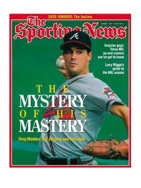 Atlanta Braves Pitcher Greg Maddux - October 9, 1995