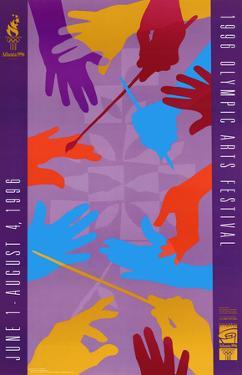 Atlanta, c.1996 Olympic Arts Festival Hands Conducting
