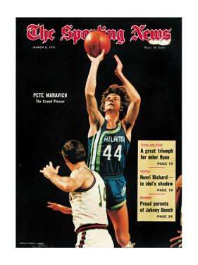 Atlanta Hawks Pete Maravich - March 6, 1971