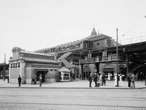 Atlantic Avenue, Subway Entrance, Brooklyn, N.Y., C.1910-20