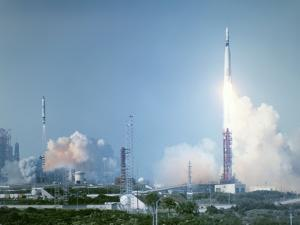 Atlas-Agena Rocket Launch for Gemini 8