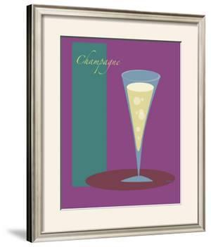 Champagne Flute in Purple by ATOM
