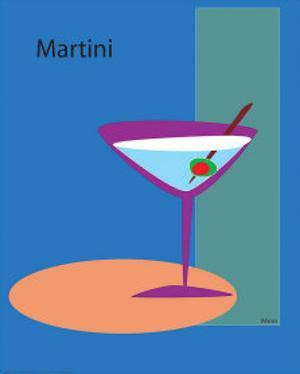 Martini in Blue by ATOM