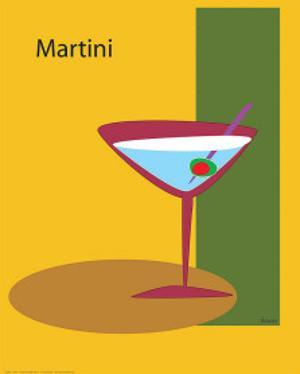 Martini in Yellow by ATOM