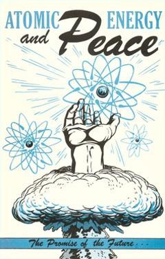 Atomic Energy and Peace Poster