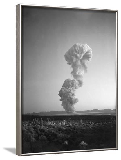 Atomic Mushroom Cloud--Framed Photographic Print