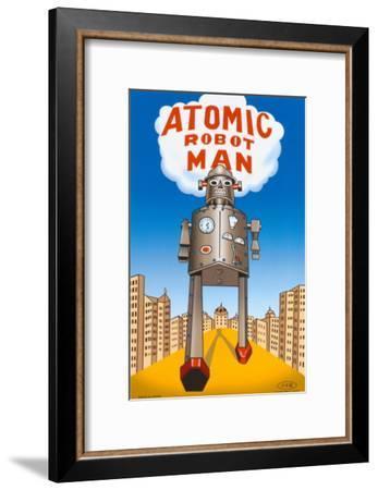 Atomic Robot Man--Framed Masterprint