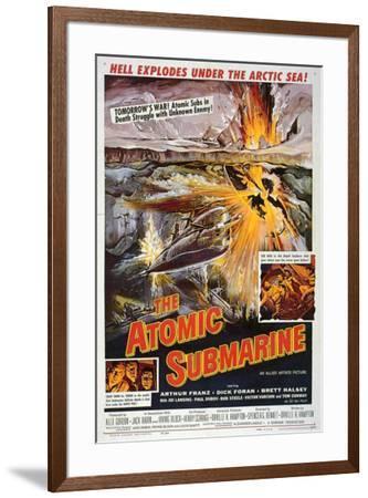 Atomic Submarine--Framed Poster