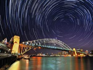 Star-Trail over Sydney by AtomicZen