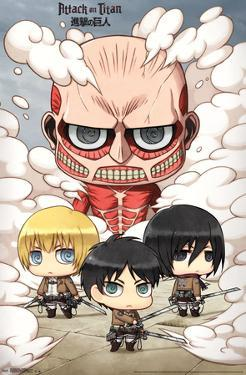 Attack On Titan- Chibi Group