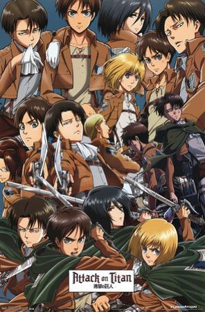 Attack On Titan - Collage