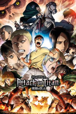 Attack On Titan - Season 2 Collage Key Art
