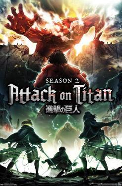ATTACK ON TITAN - SEASON 2 TEASER ONE SHEET