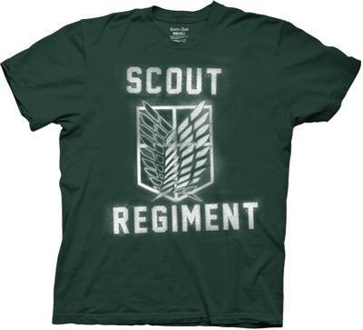 Attack On Titan- Splatter Paint Scout Regiment