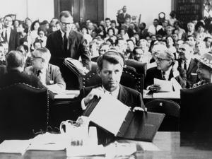 Atty, Gen. Robert Kennedy Testifying on the Civil Rights Bill in June 1963