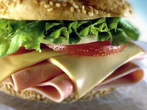 Close-up of Sandwich by ATU Studios