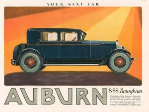 Aubern, Magazine Advertisement, USA, 1926