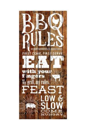 Bbq Rules