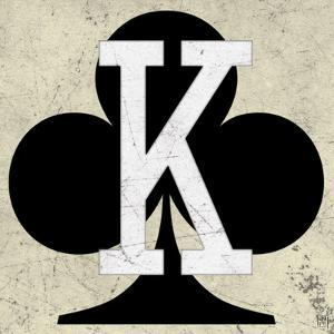 King of Clubs Antique by Aubree Perrenoud