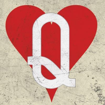 Queen of Hearts Antique