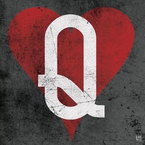 Queen of Hearts Gray by Aubree Perrenoud