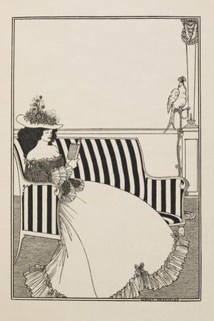 A Catalogue Cover by Aubrey Beardsley