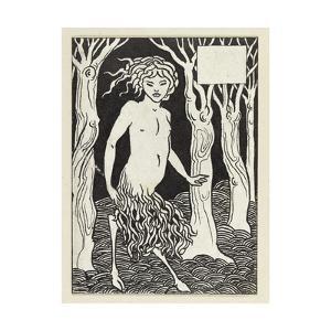 A Faun by Aubrey Beardsley