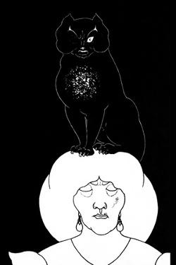 Black Cat by Aubrey Beardsley