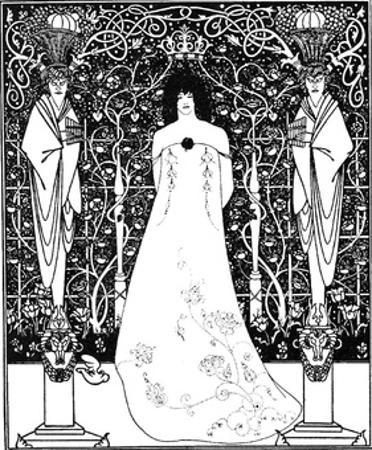 Frontpiece for Venus and Tannhauser by Aubrey Beardsley