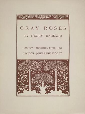 Gray Roses by Aubrey Beardsley