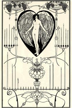 Illustration for the Mirror of Love by Marc-André Raffalovich, 1895 by Aubrey Beardsley