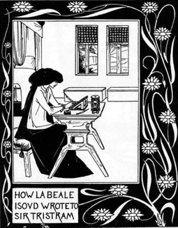 Isabelle by Aubrey Beardsley