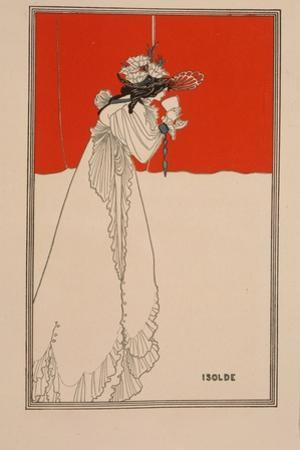Isolde, 1890s by Aubrey Beardsley