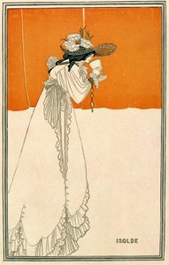 "Isolde, Illustration from ""The Studio,"" 1895 by Aubrey Beardsley"
