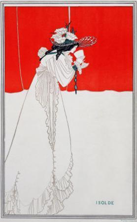 Isolde, Illustration from The Studio, 1895