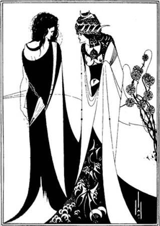 John and Salome by Aubrey Beardsley