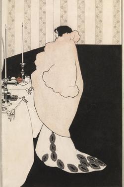 La Dame Aux Camelias by Aubrey Beardsley