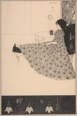 Madame Réjane by Aubrey Beardsley