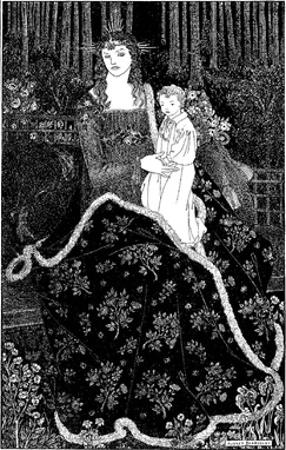 Mother and Child by Aubrey Beardsley