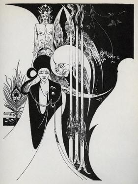 Of a Neophyte and How the Black Art Was Revealed Unto Him', 1899 by Aubrey Beardsley