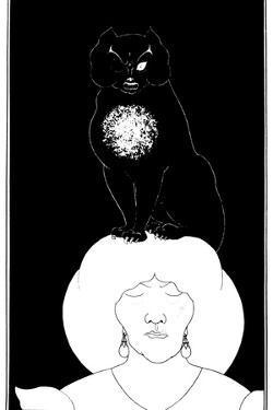 Poe: The Black Cat, 1894 by Aubrey Beardsley