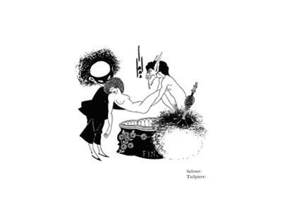 Salome, Tailpiece by Aubrey Beardsley
