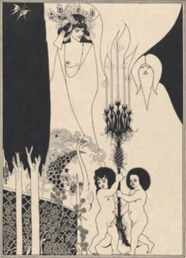 Salome - The Eyes of Herod by Aubrey Beardsley