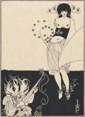 Salome - The Stomach Dance by Aubrey Beardsley