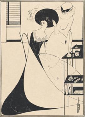 Salome - The Toilette of Salomé by Aubrey Beardsley