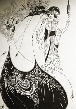Salome by Aubrey Beardsley