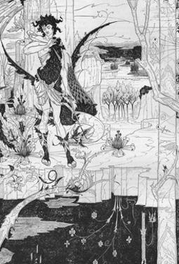 'Siegfried, Act II', c1893 by Aubrey Beardsley