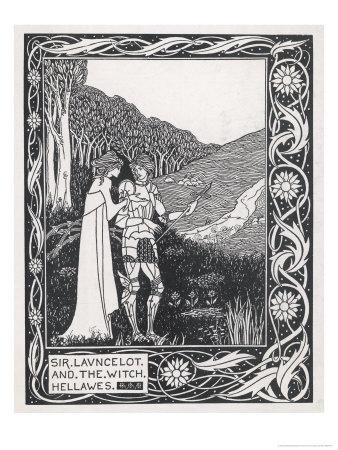 Sir Lancelot and the Witch Hellawes