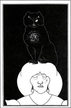 The Black Cat by Aubrey Beardsley