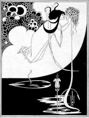 "The Climax, Illustration from ""Salome"" by Oscar Wilde, 1893 by Aubrey Beardsley"